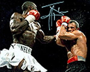 Johnny Nelson, Boxing, Genuine Signed Autograph (02)
